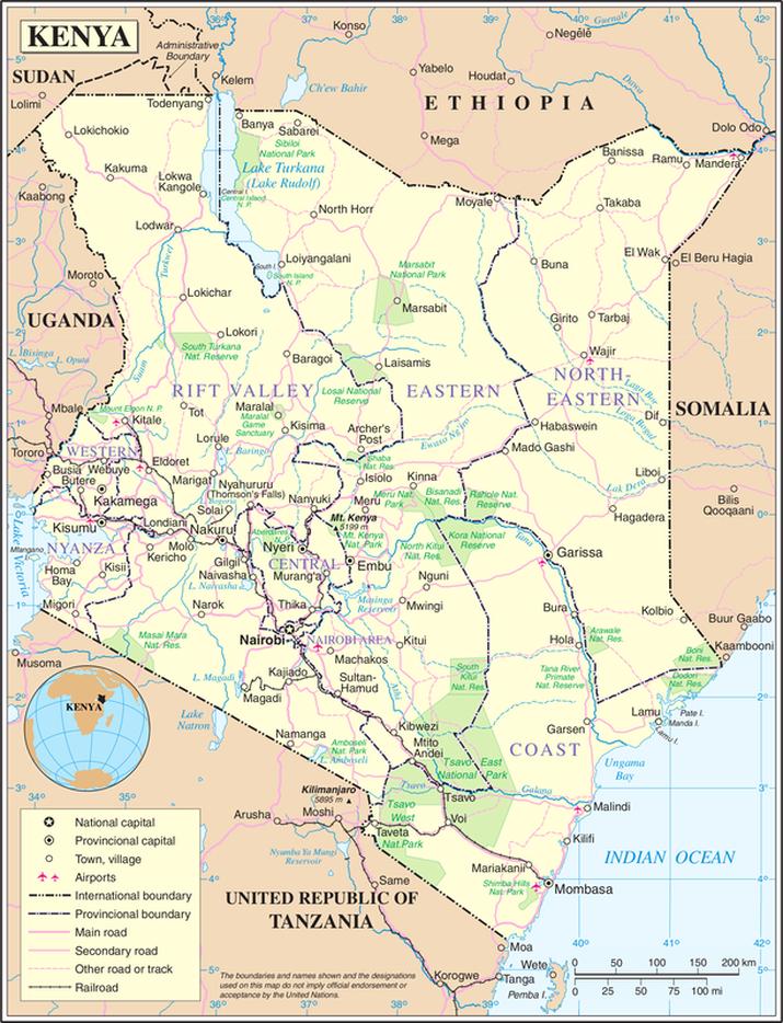 Mount Kenia Karte.Kenya Weather Conditions And Forecast Kenyawebnews Com